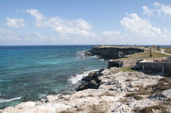 Isla Mujeres solo tiene una extensión de 7,5 km de largo.