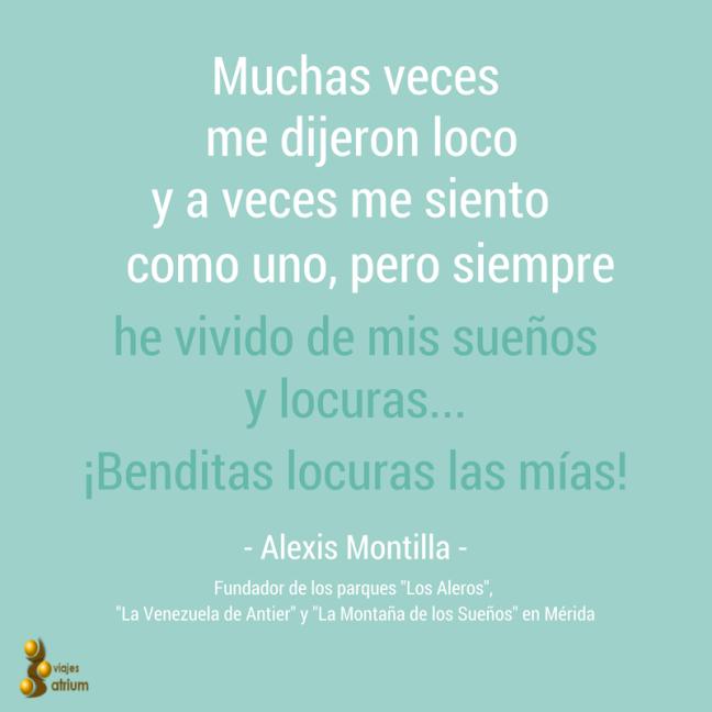 Alexis Montilla, fundador del Parque Temático Los Aleros