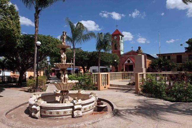 Plaza Bolivar de Elorza