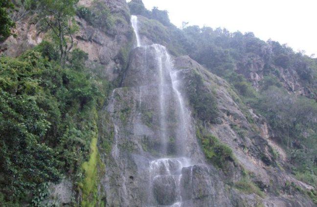 Cascada del Vino en Parque Dinira