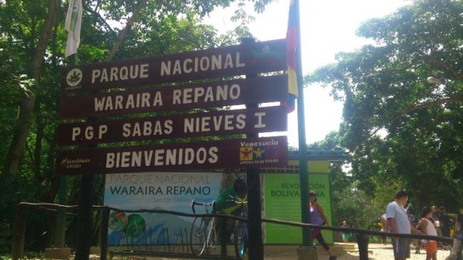 Parque Nacional Warairarepano