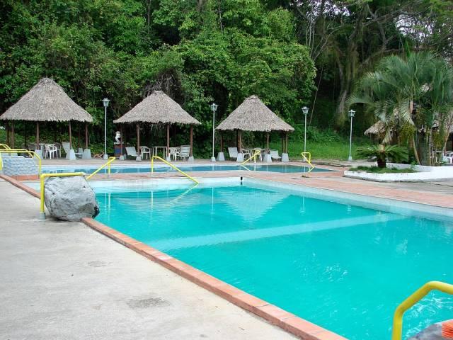 Aguas termales del caserio el Baño, Motatán, estado Trujillo