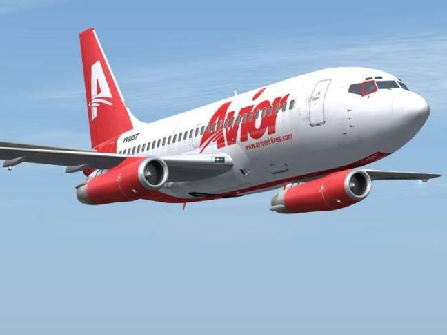Una de las líneas que está aumentando su oferta es Avior Airlines