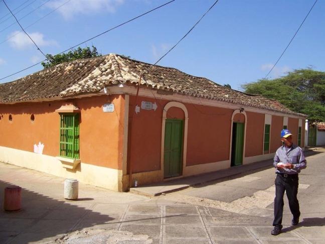 Calle de Pueblo Nuevo Paraguana