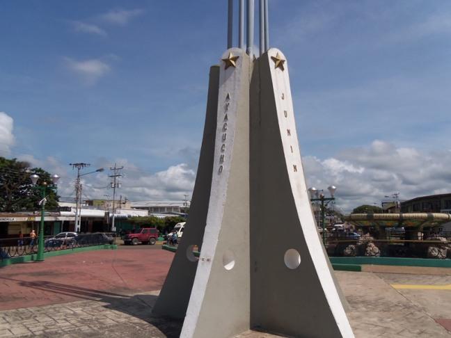 Monumento La Bandera, estado Apure
