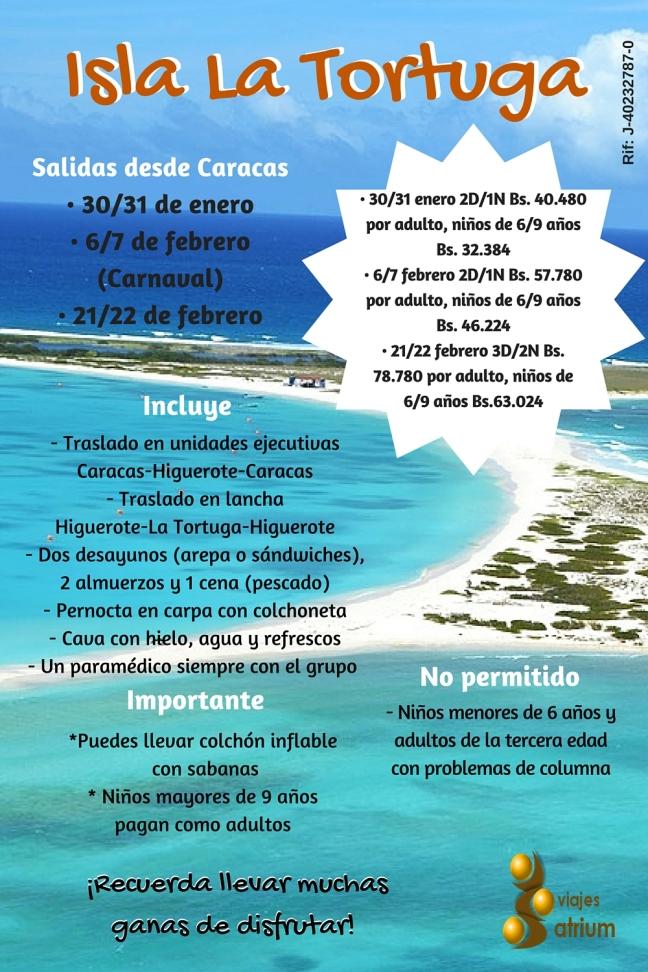 isla venezolana La Tortuga