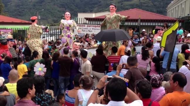 Mascarada, manifestación cultural de Costa Rica
