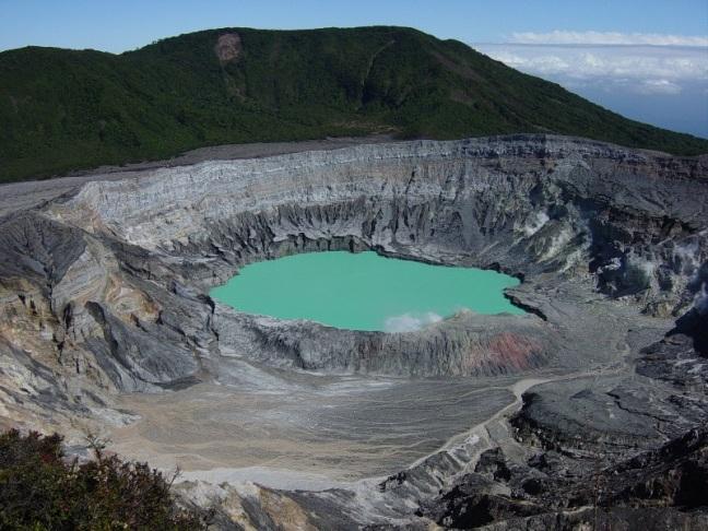 Volcanes Costa Rica, cinturón del fuego del Pacífico