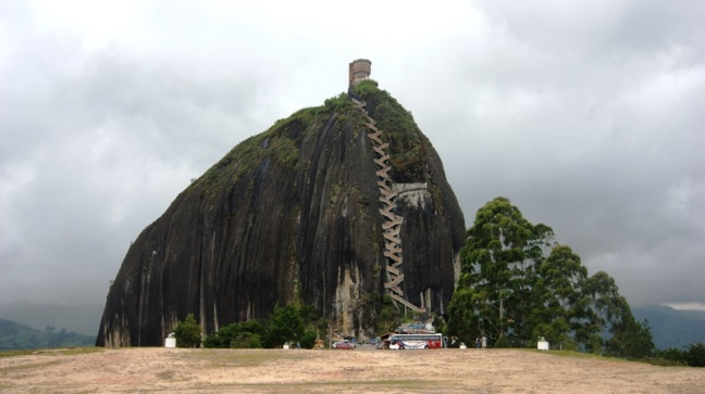 Peñón de Guatapé, Antioquia, Colombia