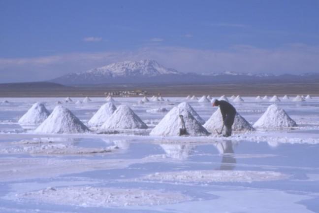 Salar de Uyuni, Bolivia, Sudamérica