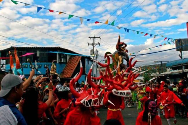 Carnaval, El Callao, diablos