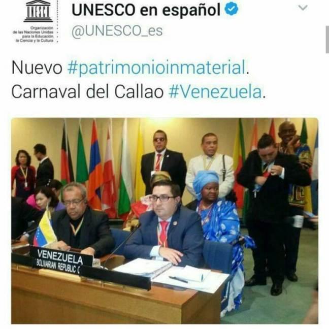 Carnaval, El Callao, Patrimonio Inmaterial de la Humanidad