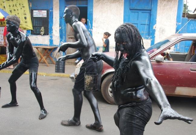 Carnaval, El Callao, negros mediopintos